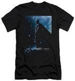 Dark Knight Rises - Batman Poster (slim fit) T-shirts