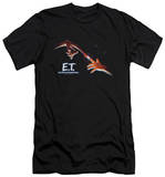 E.T. - Poster (slim fit) T-Shirt