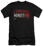 Criminal Minds - Title Card (slim fit) T-shirts