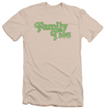 Family Ties - Logo (slim fit) T-shirts