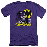 Catwoman - Rooftop Cat (slim fit) Shirts