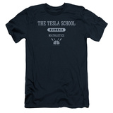 Eureka - Tesla School (slim fit) T-shirts