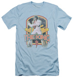 Elvis Presley - Distressed King (slim fit) Shirts