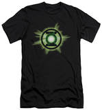 Green Lantern - Green Glow (slim fit) T-shirts