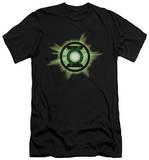 Green Lantern - Green Glow (slim fit) T-shirts