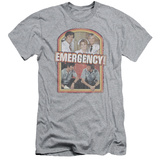 Emergency - Retro Cast (slim fit) T-shirts