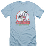 Courage The Cowardly Dog - Vintage Courage (slim fit) T-shirts
