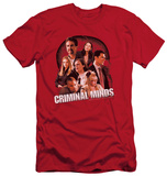 Criminal Minds - Brain Trust (slim fit) Shirts