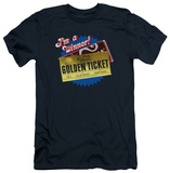 Charlie and the Chocolate Factory - Golden Ticket (slim fit) Shirts