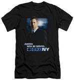 CSI Ny - Justice Served (slim fit) T-shirts