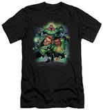 Green Lantern - Corps No.1 (slim fit) T-shirts