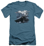 Dark Knight Rises - Batarang Throw (slim fit) T-Shirt