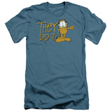 Garfield - They Did It (slim fit) T-shirts