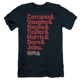 Major League - Team Roster (slim fit) T-Shirt