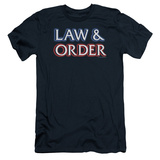 Law & Order - Logo (slim fit) T-Shirt