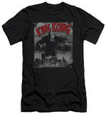 King Kong - City Poster (slim fit) T-Shirt