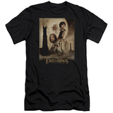 Lord Of The Rings - The Two Towers Poster (slim fit) T-Shirt