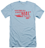 Jaws - Bigger Boat (slim fit) T-shirts