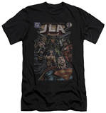 Justice League - No.1 Cover (slim fit) T-shirts