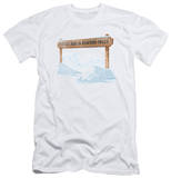 Its A Wonderful Life - Bedford Falls (slim fit) T-shirts