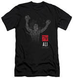 Muhammad Ali - 70 Arms Raised (slim fit) Shirt