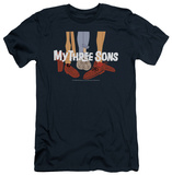 My Three Sons - Shoes Logo (slim fit) T-shirts