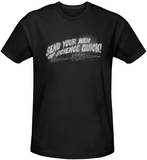 Invasion of the Body Snatchers - Men Of Science (slim fit) T-Shirt