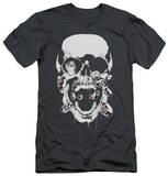 Green Lantern - Black Lantern Skull (slim fit) Shirts