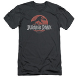 Jurassic Park - Faded Logo (slim fit) T-shirts