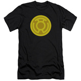 Green Lantern - Yellow Symbol (slim fit) T-shirts