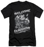 Mighty Mouse - Mighty Gunshow (slim fit) T-Shirt