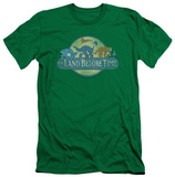 Land Before Time - Retro Logo (slim fit) Shirt