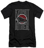 Knight Rider - Logo (slim fit) Shirts