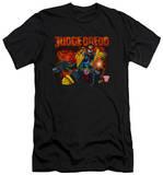Judge Dredd - Through Fire (slim fit) T-Shirt