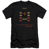 Knight Rider - Kitt Consol (slim fit) T-Shirt