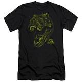 Jurassic Park - Rex Mount (slim fit) Shirts