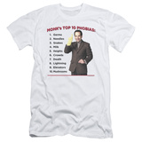 Monk - Top 10 Phobias (slim fit) T-Shirt