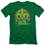 Martian Manhunter - Martian Manhunter (slim fit) T-shirts