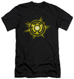 Green Lantern - Yellow Glow (slim fit) T-shirts
