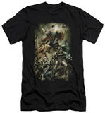 Justice League - Aftermath (slim fit) T-shirts