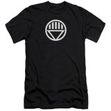 Green Lantern - Black Lantern Logo (slim fit) T-shirts