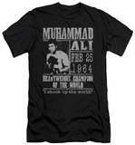 Muhammad Ali - Poster (slim fit) Shirt