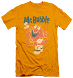 Mr Bubble - Towel And Duckie (slim fit) T-Shirt