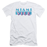 Miami Vice - Logo (slim fit) T-shirts