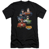 Justice League - Group Portrait (slim fit) T-shirts