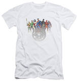 Justice League - Circle Crest (slim fit) T-Shirt