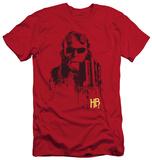 Hellboy II - Splatter Gun (slim fit) T-Shirt