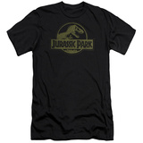 Jurassic Park - Distressed Logo (slim fit) T-Shirt