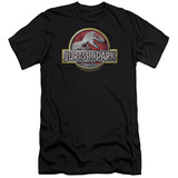 Jurassic Park - Logo (slim fit) T-Shirt