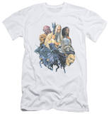 Lord Of The Rings - Collage Of Evil (slim fit) T-Shirt